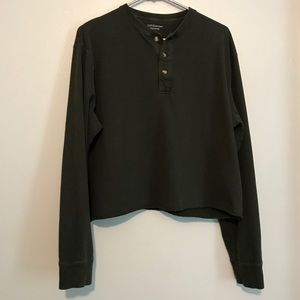 Vintage hunter green Long sleeve